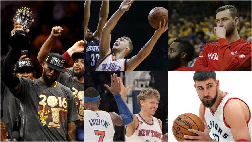NBA sezonas startuoja jau šiąnakt