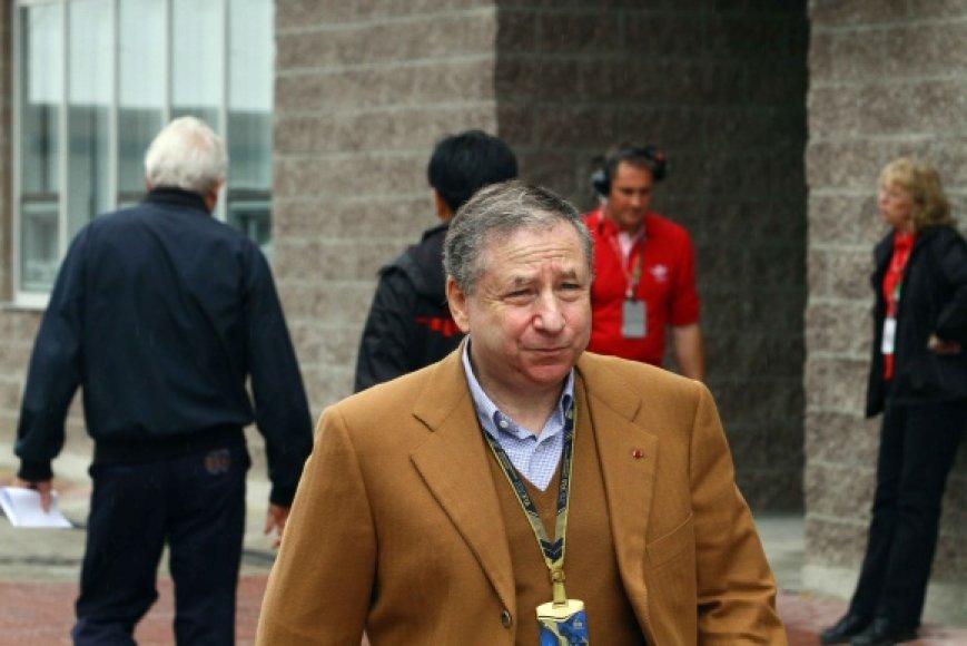 FIA prezidentas Jeanas Todtas