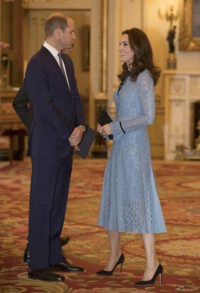 """""""Scanpix""""/""""PA Wire""""/""""Press Association Images"""" nuotr./Princas Williamas ir Kembridžo hercogienė Catherine"""