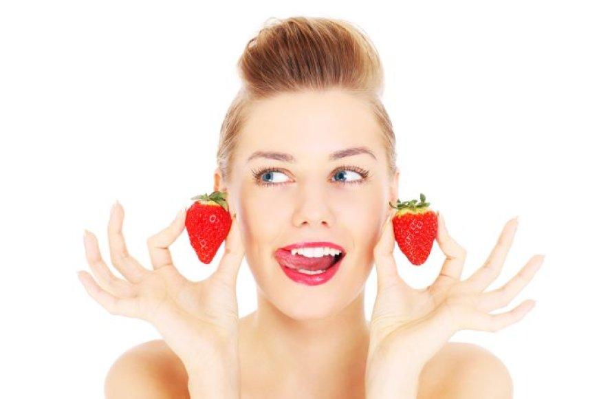 Skaisčią odą dovanoja tinkama mityba