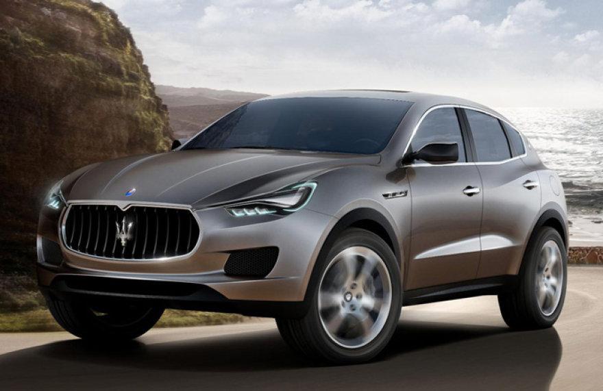 """Koncepcinis """"Maserati Kubang"""""""