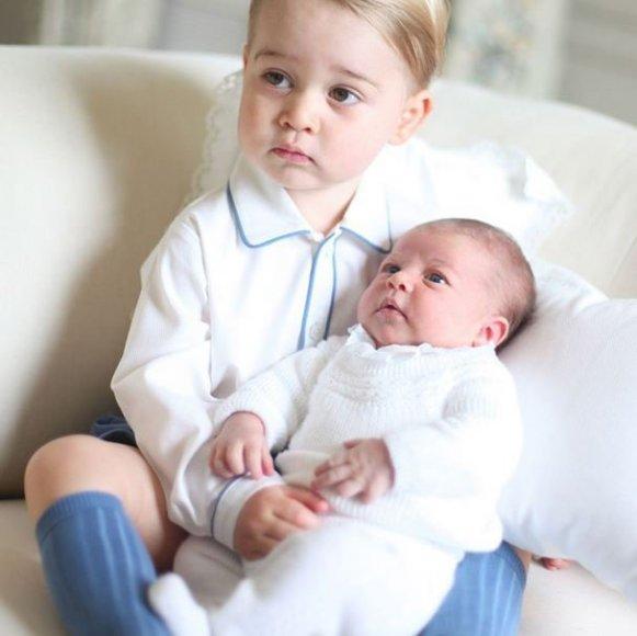 Princas George'as ir princesė Charlotte