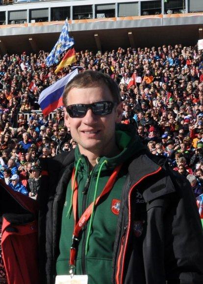 Arūnas Daugirdas – Lietuvos biatlono federacijos prezidentas