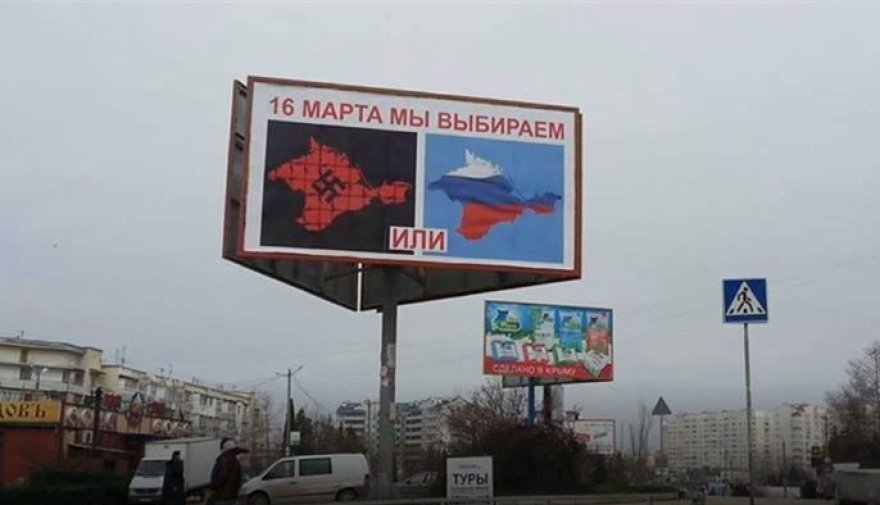 Krymas ruošiasi rublio įvedimui, žmonės priversti užsisakyti rusiškas bankų korteles
