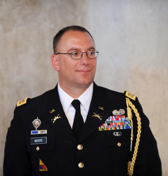 Naujasis JAV gynybos atašė Lietuvai Johnas C. Moore'as