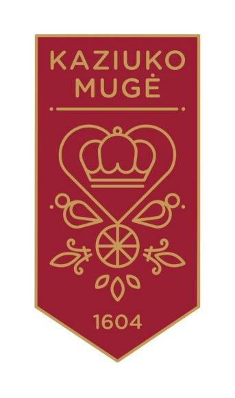 Kaziuko mugės logotipas.