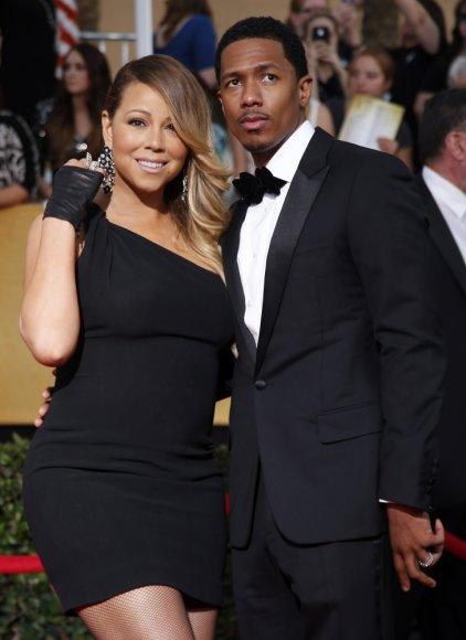 Mariah Carey su vyru Nicku Cannonu
