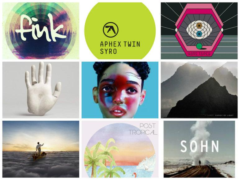 2014 metų albumai