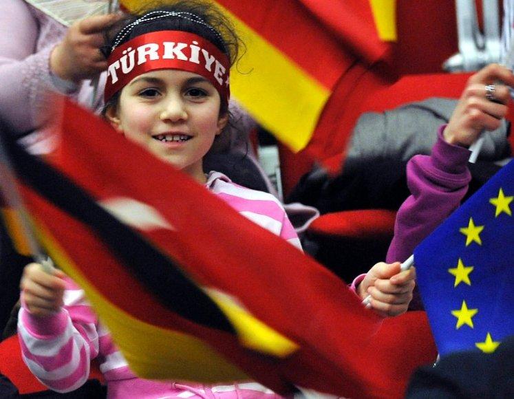 Turkų integracija Vokietijoje tebėra sudėtinga.