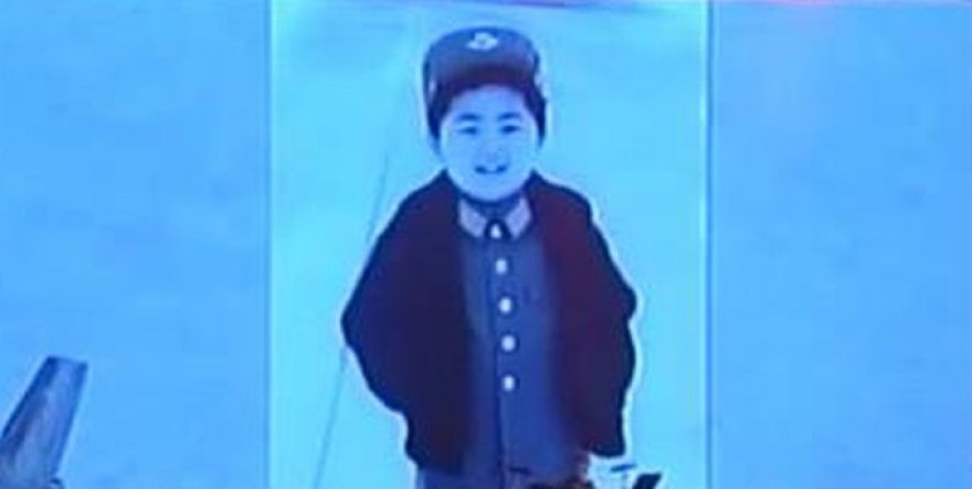 Kim Jong Unas vaikystėje