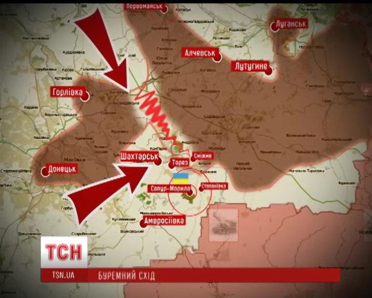 Mūšiai Rytų Ukrainoje (07 29)