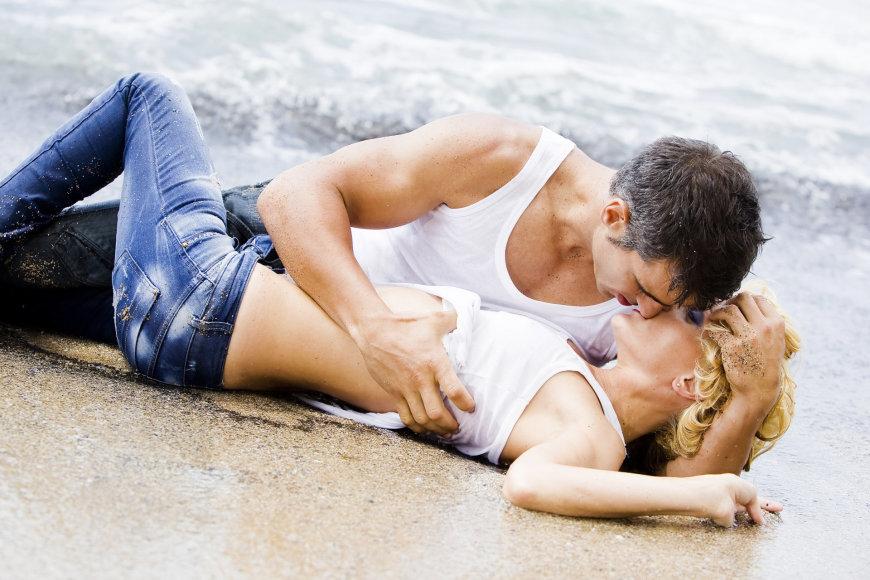 Glamonės paplūdimyje