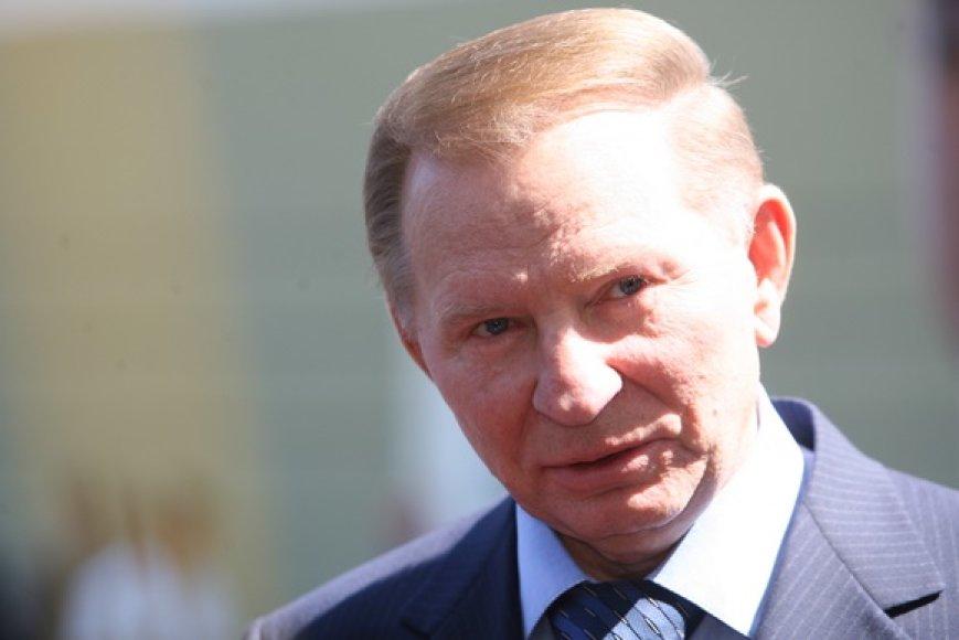 Kadenciją baigęs Ukrainos prezidentas Leonidas Kučma