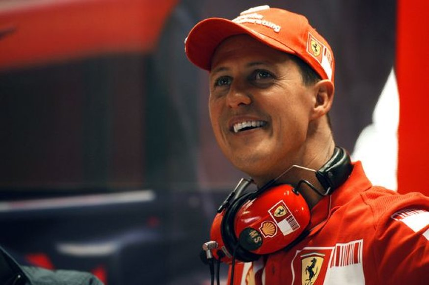 M.Schumacherį visuomet traukė žvaigždės