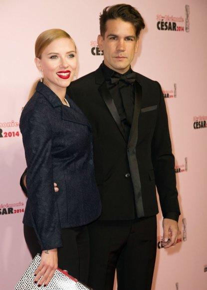 Scarlett Johansson ir Romainas Dauriacas