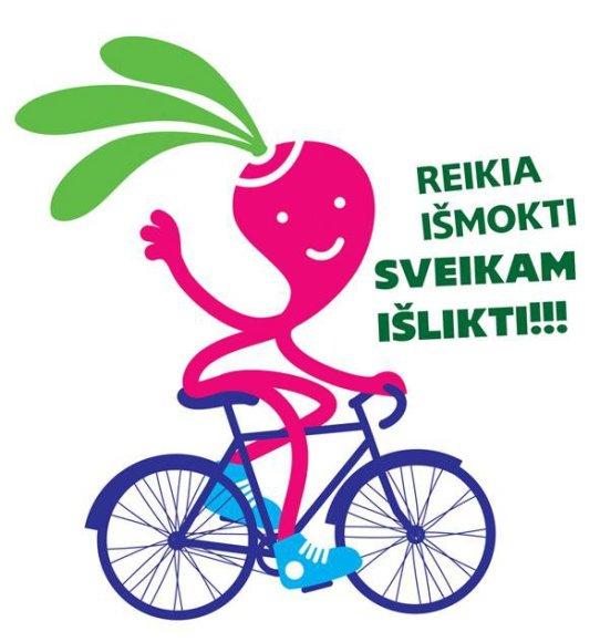 Sveikatos žinių konkurso logotipas
