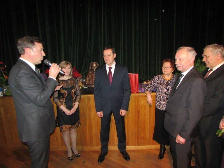 Valdemaro Tomaševskio gimtadienio šventė