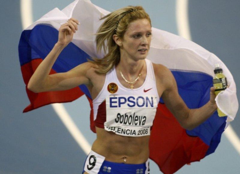 1500 metrų bėgikė Jelena Soboleva buvo diskvalifikuota priš Pekino olimpines žaidynes
