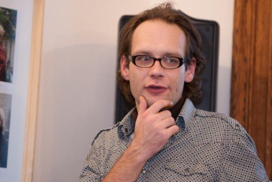 Rašytojas Andrius Jakučiūnas