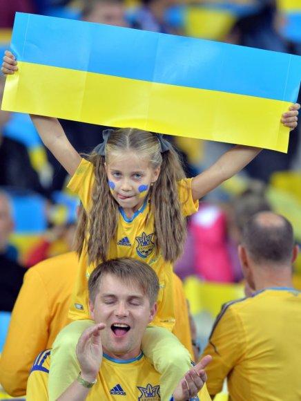 Ukrainos futbolo sirgaliai