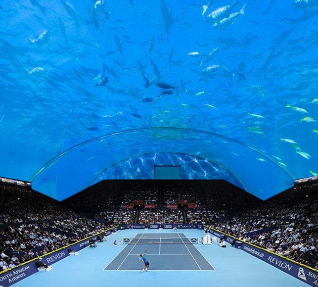 Povandeninis teniso centras