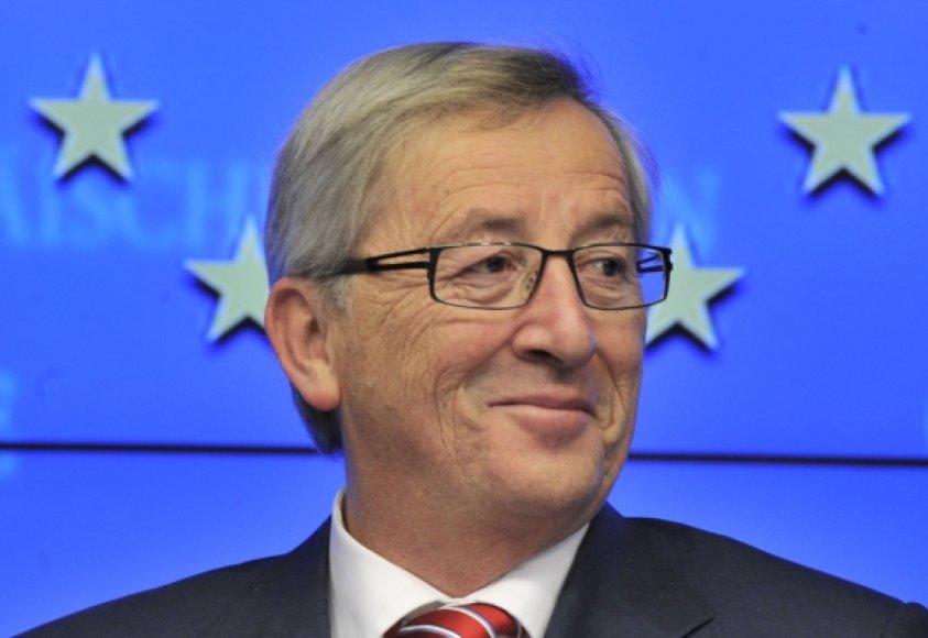 Liuksemburgo ministras pirmininkas Jeanas-Claude'as Junckeras