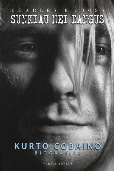 Knyga apie Kurtą Cobainą
