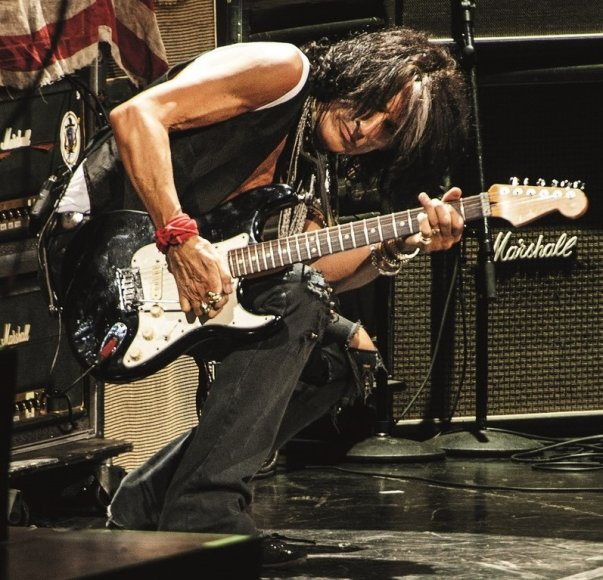 """Aerosmith"" gitaristas Joe Perry"