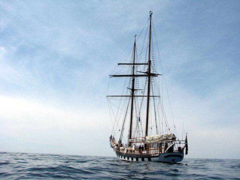 """Škuna """"Brabander"""" baigia 78 dienas trukusią ekspediciją."""