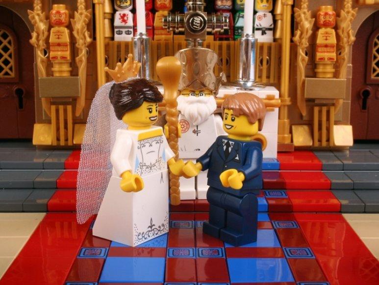 Lego vestuvės