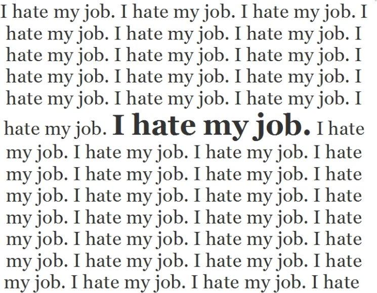 Nekenčiu darbo