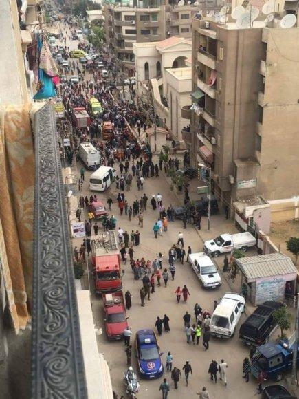 Sprogimas Egipte