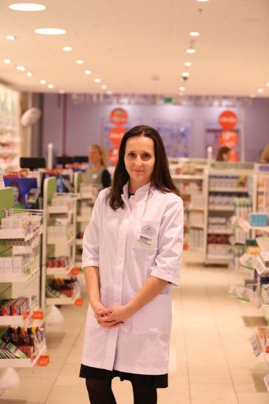 Profesionalias konsultacijas teiks Sveikos odos instituto ženklelius segintys vaistininkai