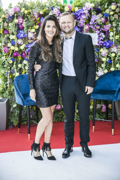 Justė ir Darius Pinkevičiai