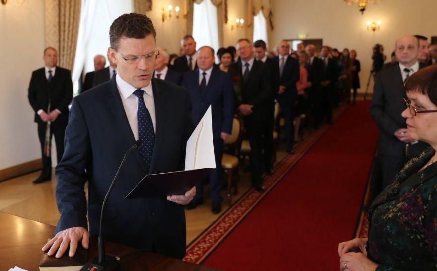 Kauno rajono vicemeras socialdemokratas Kęstutis Povilaitis
