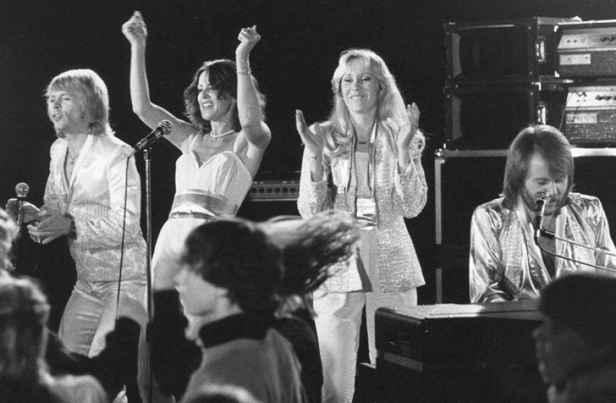 """Švedų grupė """"ABBA""""."""