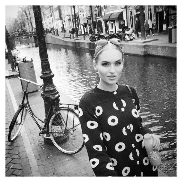 Gintarė Gurevičiūtė Amsterdame