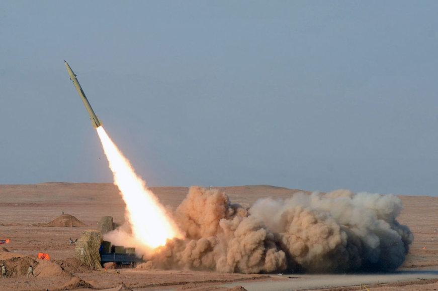 Irano raketos startas
