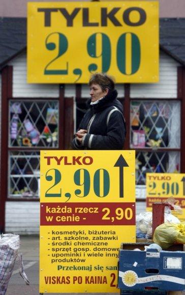 Parduotuvė Lenkijoje