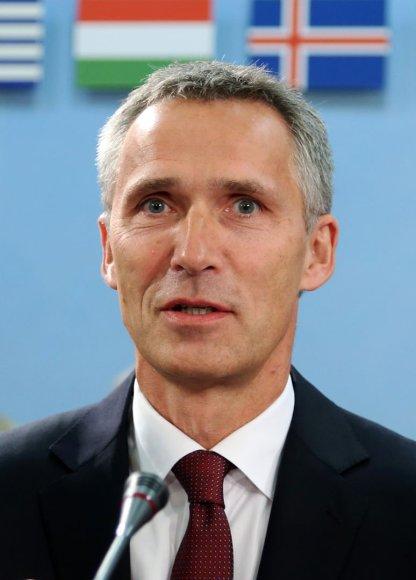 Naujasis NATO generalinis sekretorius Jensas Stoltenbergas