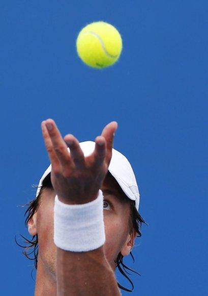 Ričardas Berankis pirmą kartą karjeroje žais turnyre Niuporte