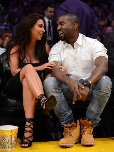 Kim Kardashian ir Kanye Westas 2012-ųjų gegužę