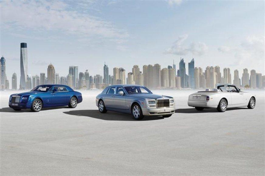 "Atnaujinta ""Rolls Royce Phantom"" šeima"