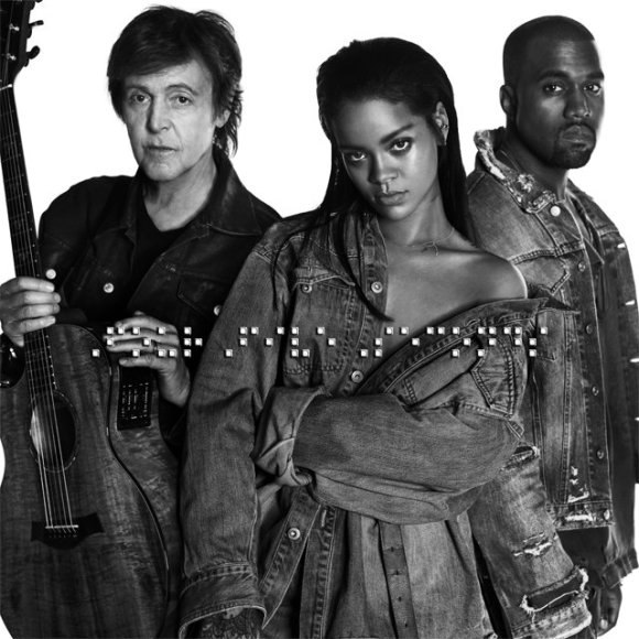 Paulas McCartney, Rihanna ir Kanye Westas