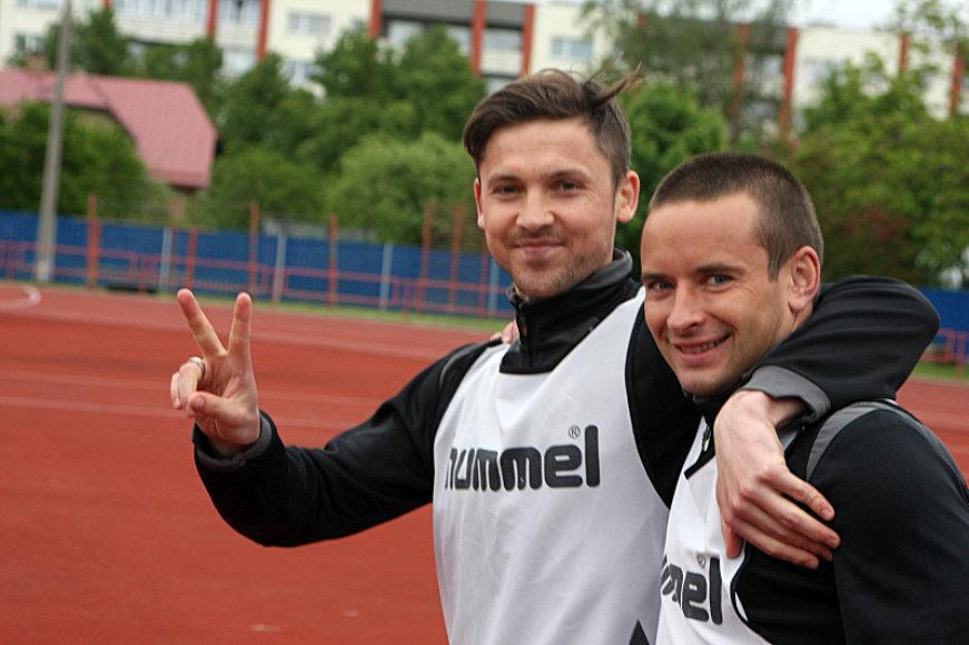 Saulius Mikoliūnas ir Vytautas Lukša