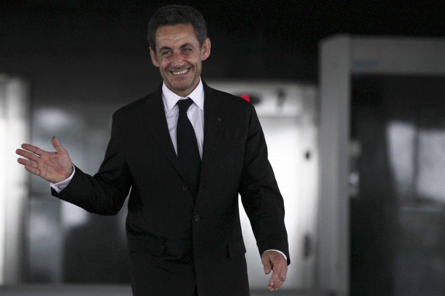 Nicolas Sarkozy švenčia 59-ąjį gimtadienį