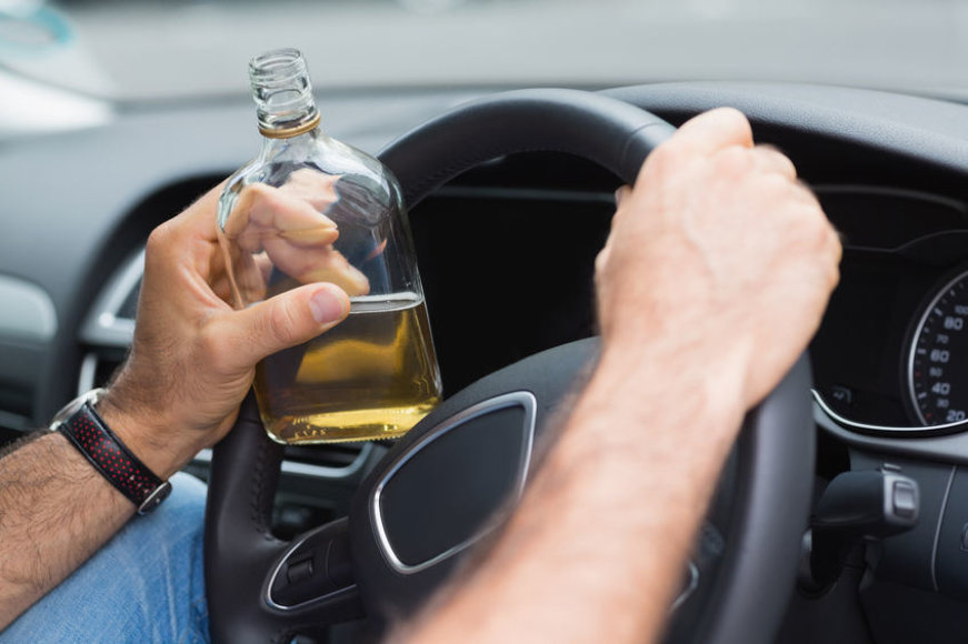 Vairavimas išgėrus