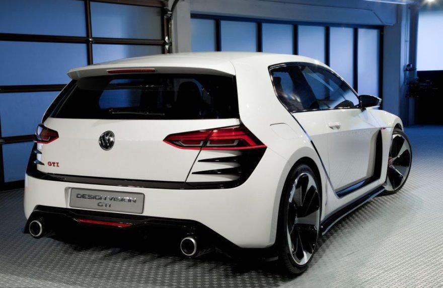 """""""Volkswagen Golf Design Vision GTI"""""""