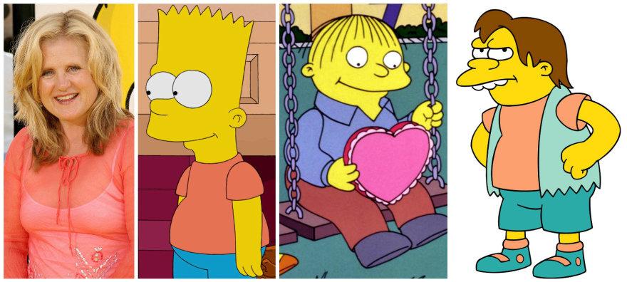 Vida Press nuotr./Nancy Cartwright, įgarsinanti Bartą Simpsoną, Nelsoną, Ralfą Bizūną ir kt.