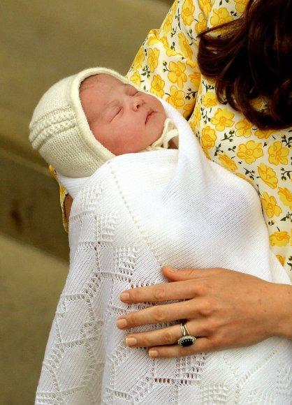 Kembridžo hercogienės Catherine ir princo Williamo dukra